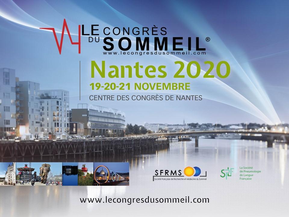 Congrès du Sommeil @ Centre des congrès de Nantes